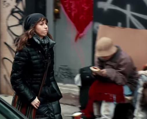 homeless sister right under her nose