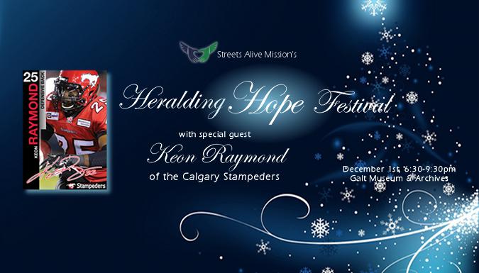 Heralding Hope featuring Keon Raymond