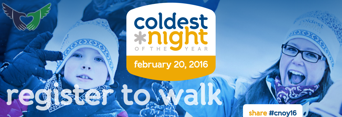 Register to Walk CNOY 2016 with Streets Alive Mission