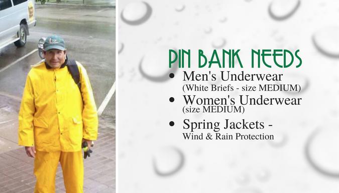 PIN Bank Needs - April 21 2017