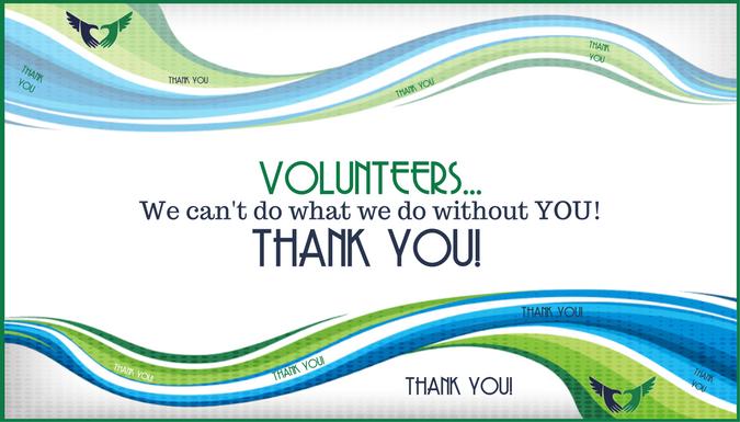 Volunteers are Invaluable!