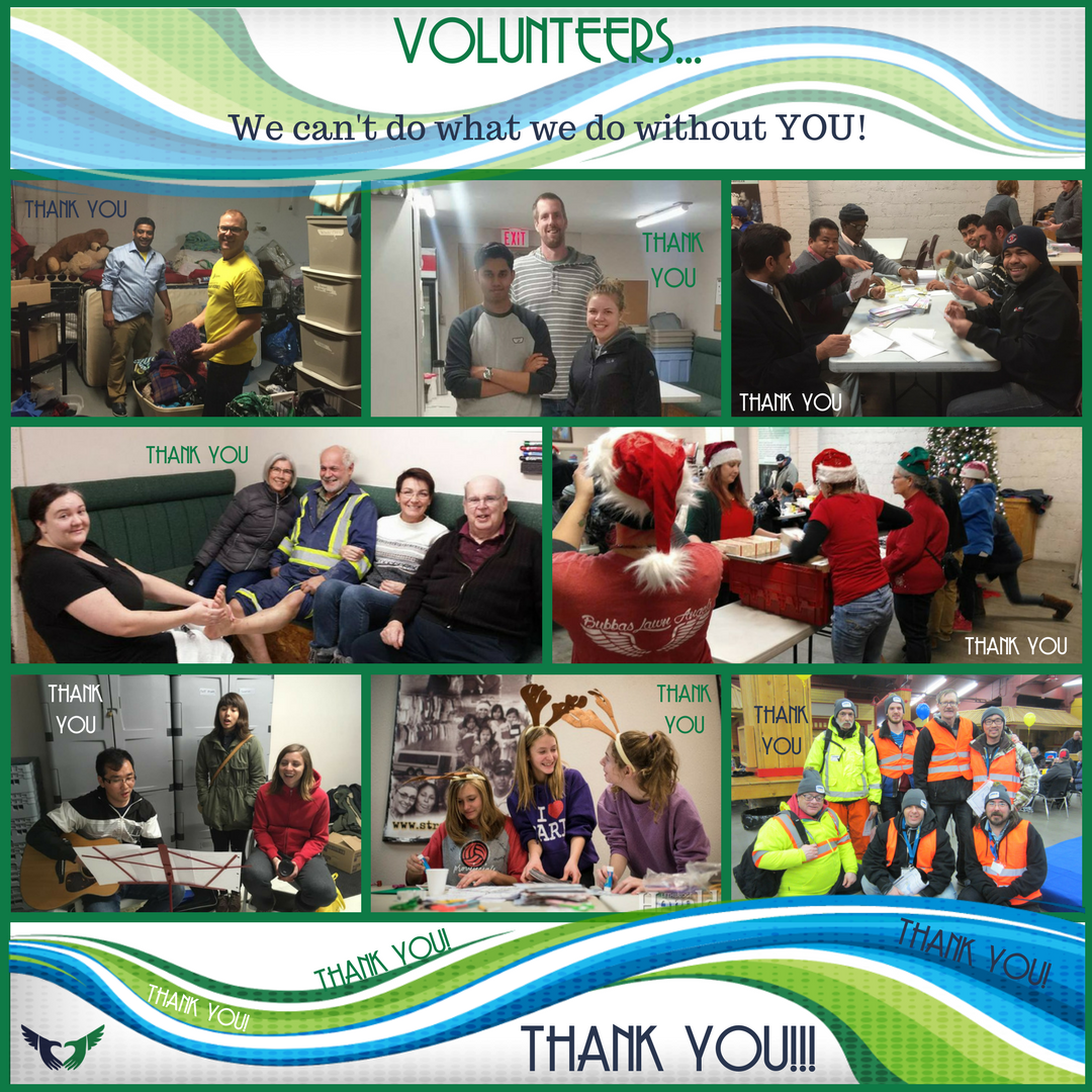 Volunteer Week - Thank You - Streets Alive Mission