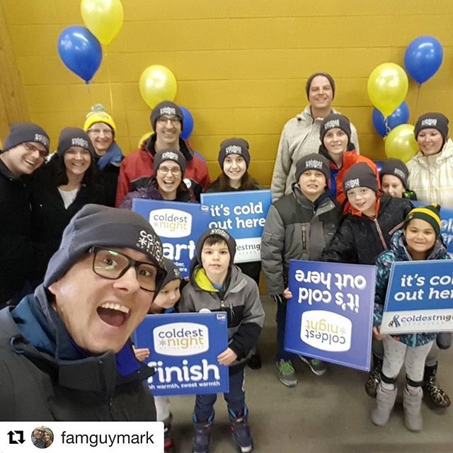 Family Walkers for CNOY18 : Reposting a photo from @famguymark ・・・ Walking for Streets Alive tonight.