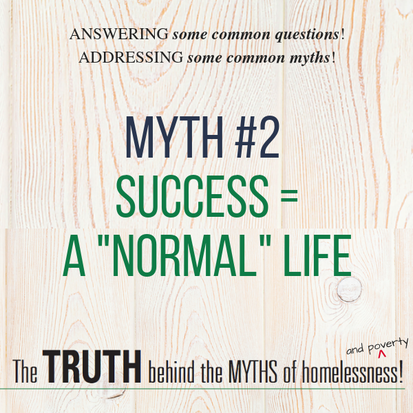 Myth #2 - Success = a