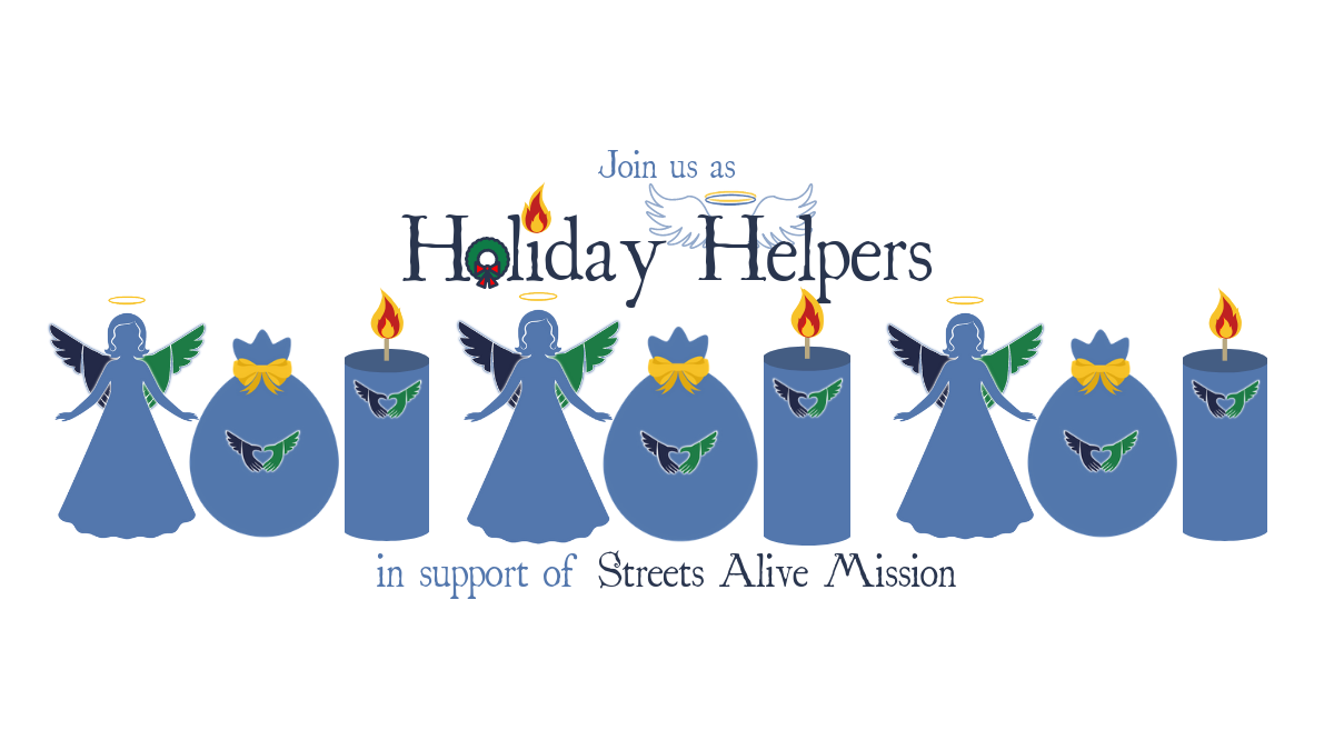 Join us as Holiday Helpers