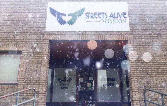 Streets Alive Mission - Snowing in Lethbridge