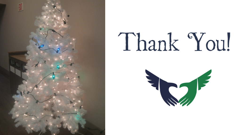 Thank You for helping to Light the Tree of Hope