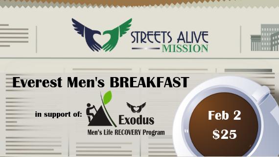 Everest Men's Breakfast