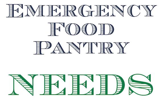Emergency Food Pantry Needs