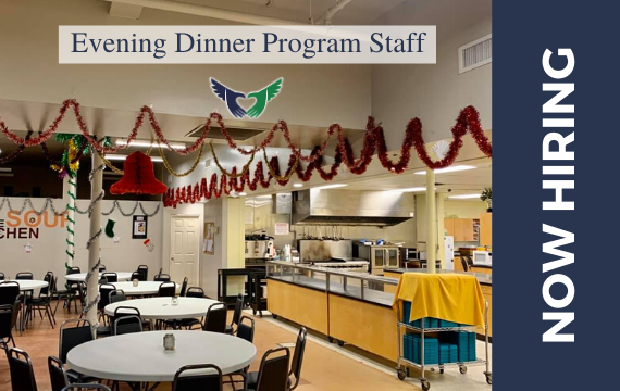 Evening Dinner Program Staff - Now Hiring