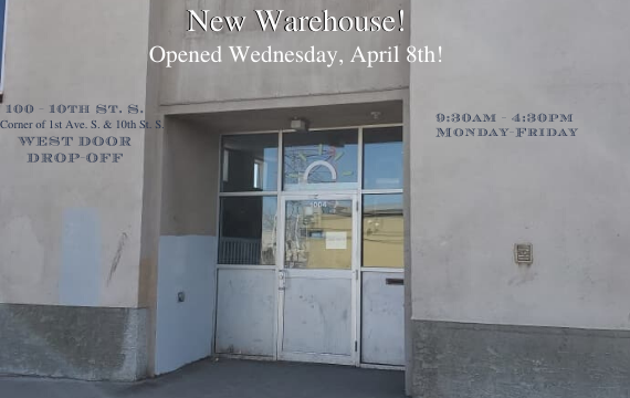New Warehouse - corner of 1st Ave S and 10th St S