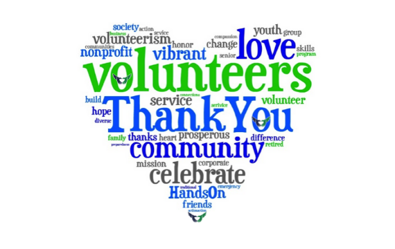 Thank You, Volunteers!