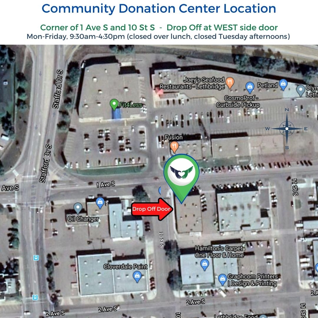 Community Donation Center - Map