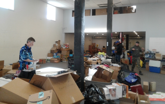 Community Donation Center - sorting