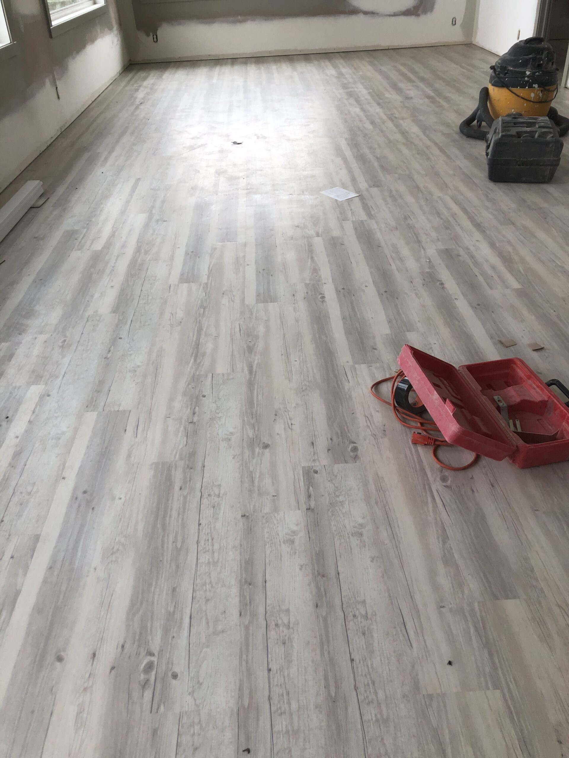New flooring in Segue Home