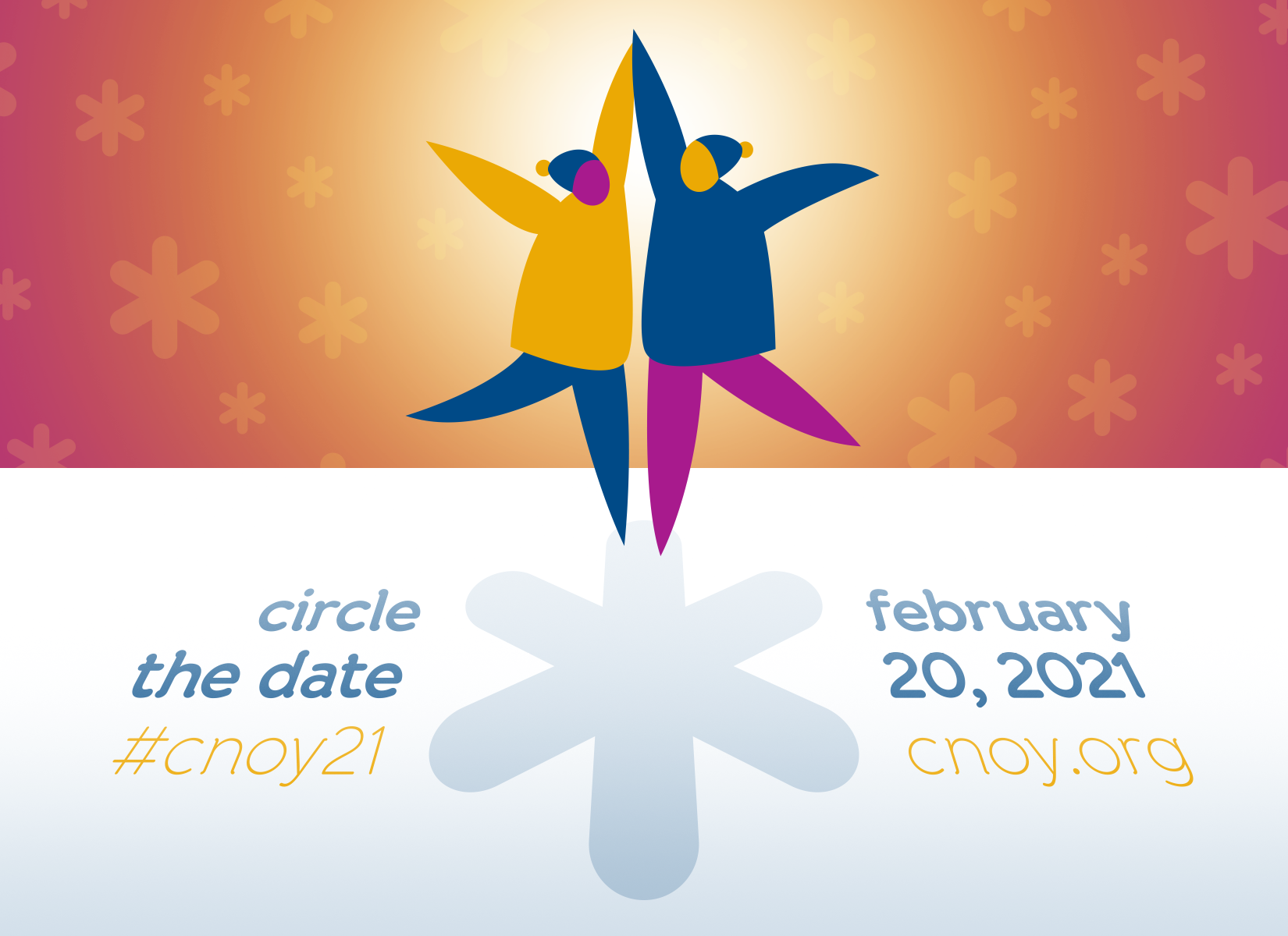 Save the Date - Feb 20 - CNOY 2021