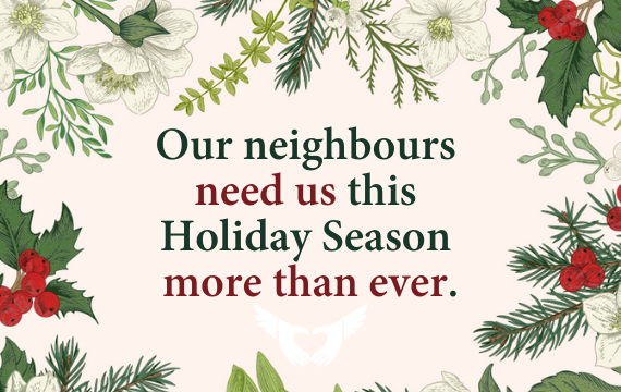 Our Neighbour Needs a Meal – Christmas 2020 Newsletter