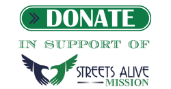 Donate to Streets Alive Mission